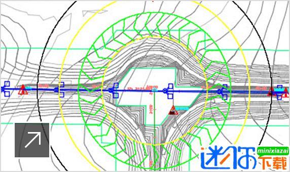 高级环行交叉口设计