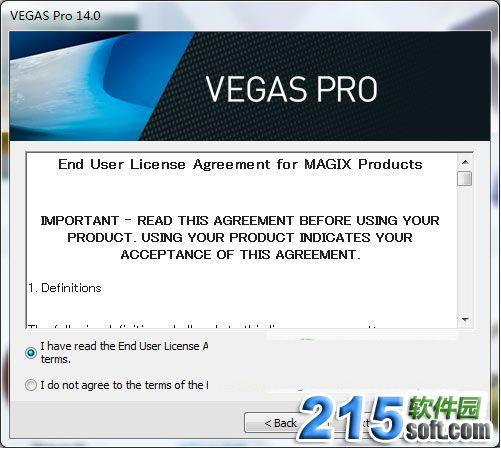 VEGAS Pro 14安装教程
