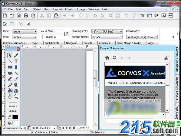ACD Systems Canvas X16